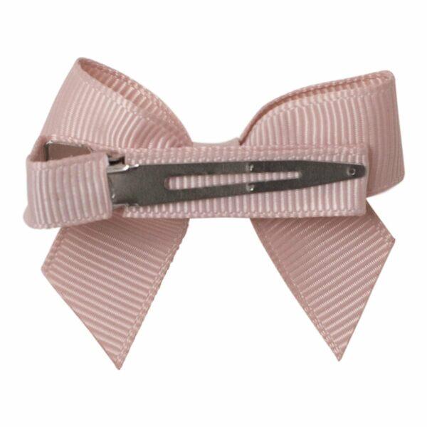 040116 0064 | LEONORA - Sløjfe 7 cm. flad med 2 små swarovski rhine sten
