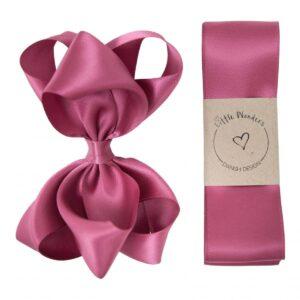 Dåbs sæt til piger i victorian rose silke