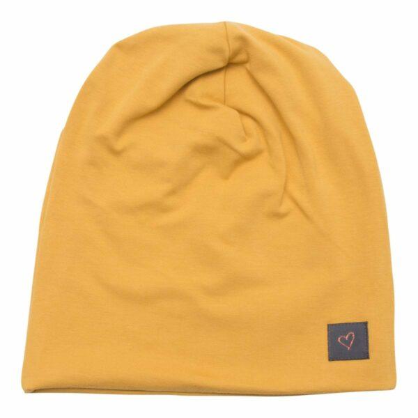 Beanie Girls curry | AW19 Karry gul beanie hue til børn