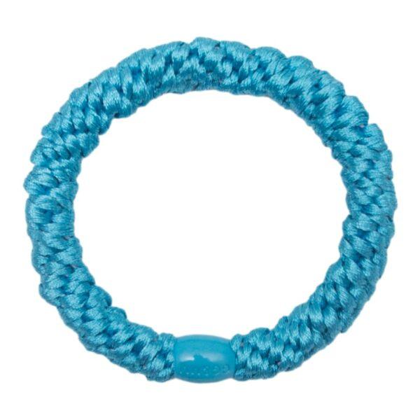 Blue Elastic | Turkis Blå kraftig hårelastik fra Little Wonders