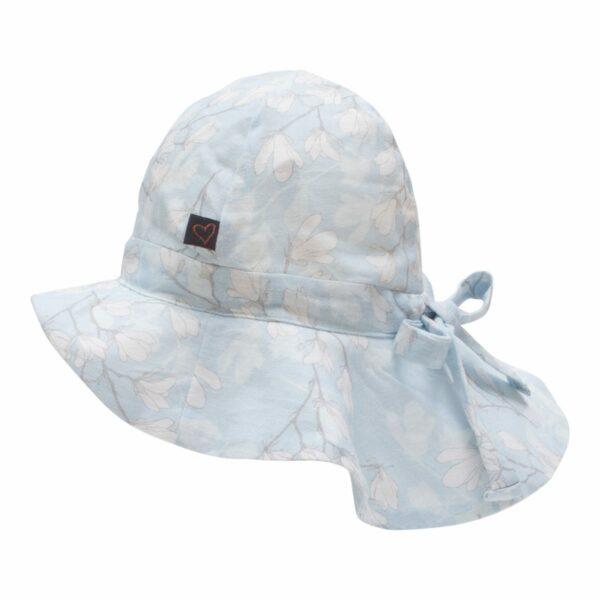 Blue Magnolia Summerhat 2   SS19 Blue Magnolia Sommerhat til piger med sløjfe