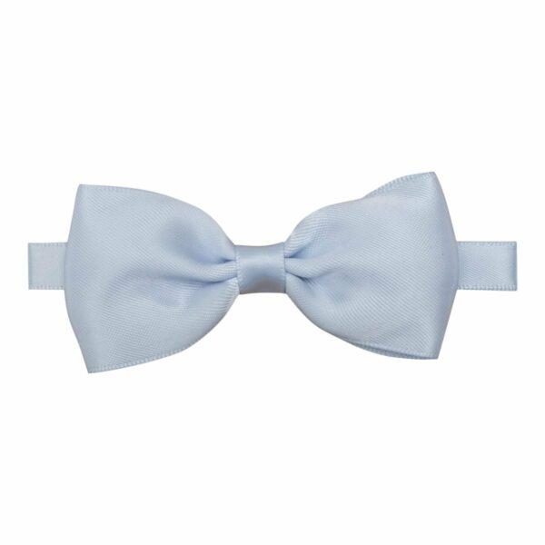 Butterfly bluebell silk | Elton - Lyseblå butterfly i silke satin 0-3 år