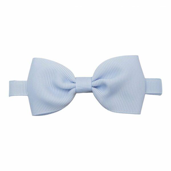 Butterfly bluebell grosgrain 307 | Lyseblå butterfly i grosgrain til børn