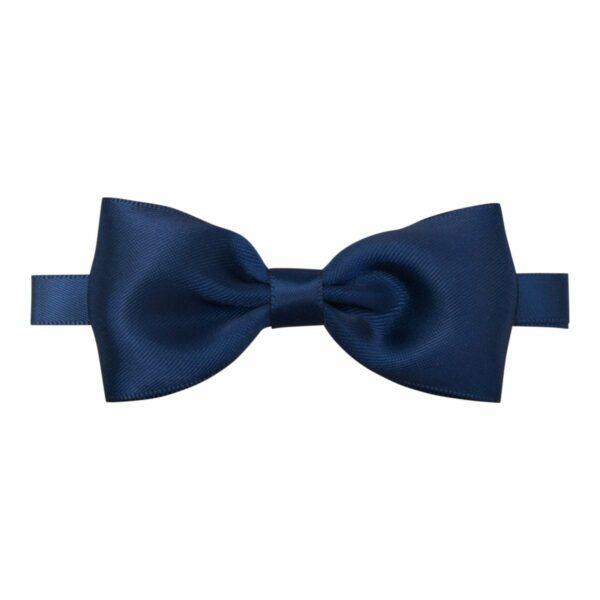 Butterfly navy silk 370 | Navy blå butterfly i satin til børn