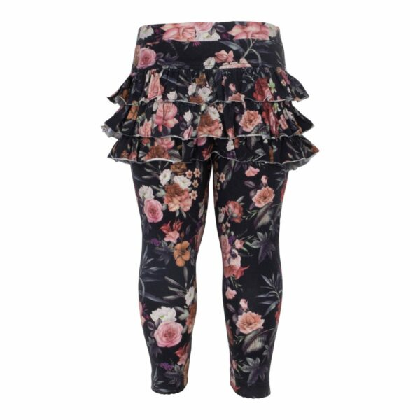 CR1 7317 Edit | AW19 Warm flower print Athena flæse leggings