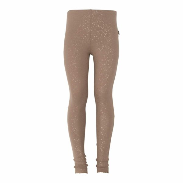 Chestnut Gitls leggtings | BA Chestnut brune leggings med glimmerprint