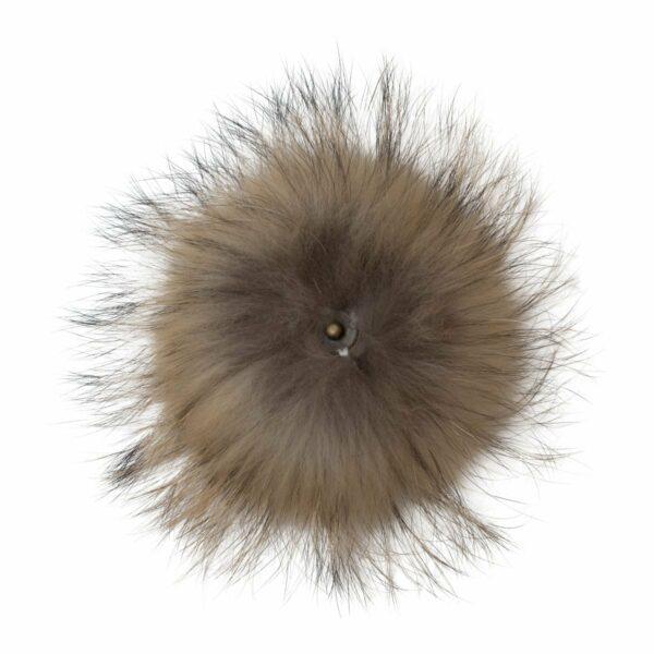 Fur Nature nack 1 | Pelskvast - lys natur med tryklås