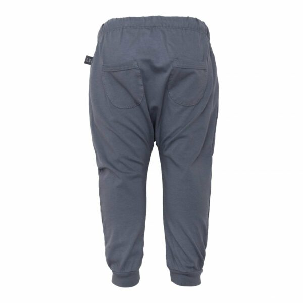 Grey baggy pants back | Rose Dawn Adam baggy bukser med lommer