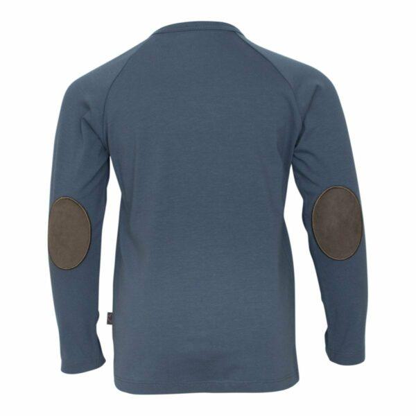 Grey boys Tshirt back | Koksgrå bluse til drenge fra Little Wonders
