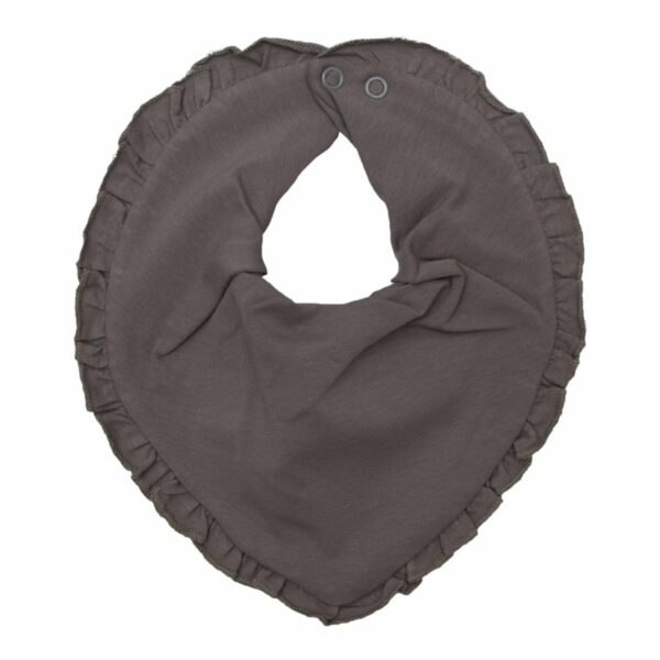 Grey frill droll | Koksgrå savlesmæk med flæsekant