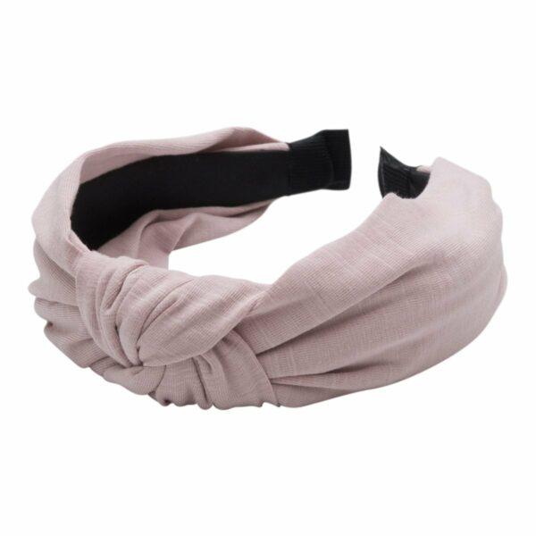 Headband Dusty Rose Jersey | Hårbøjle med jersey stof i støvet rosa fra Little Wonders