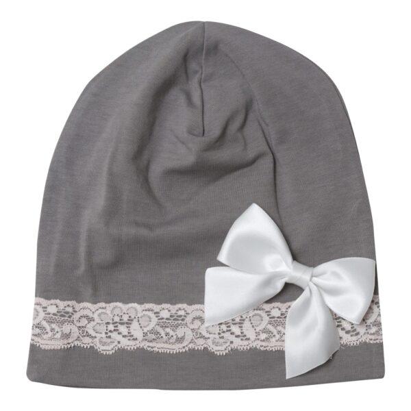 LW 3 1 | Silke sløjfe til beanie hue - med pin 3 farver