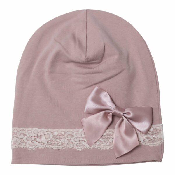 LW 4 1 | Silke sløjfe til beanie hue - med pin 3 farver