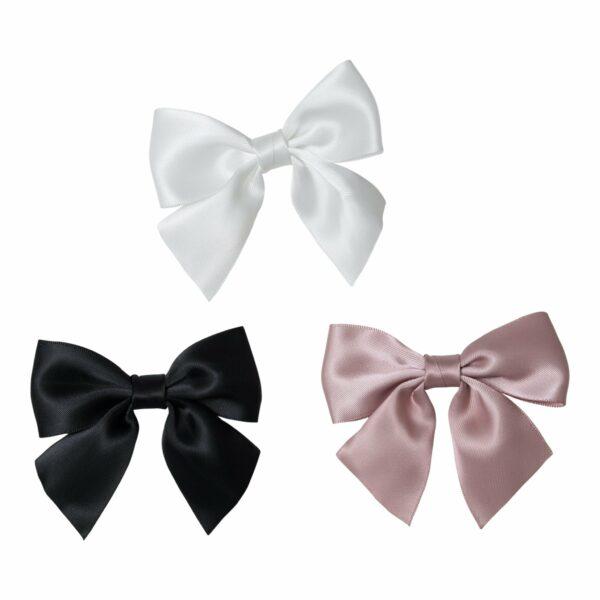 LW 7 1 | Silke sløjfe til beanie hue - med pin 3 farver