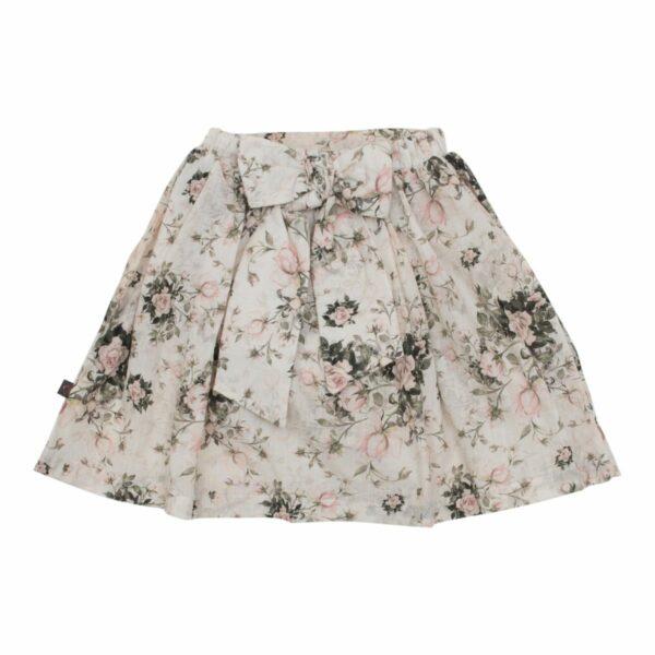 Nederdel til piger med stor sløjfe
