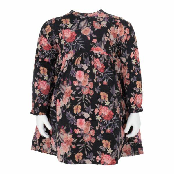 Malou Dress Warm Fall Flowerprint | AW19 Warm Fall Flowerprint Vanessa Body kjole