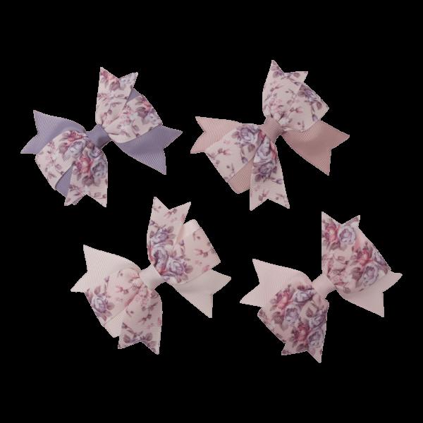 Mathilde fælles | AGNES - flad blomstret dobbeltsløjfe