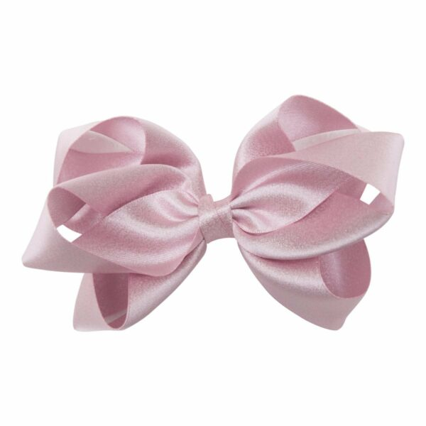 Molly Pearl Pink 123 | Glitter dåbs sæt til piger i lyserødt satin