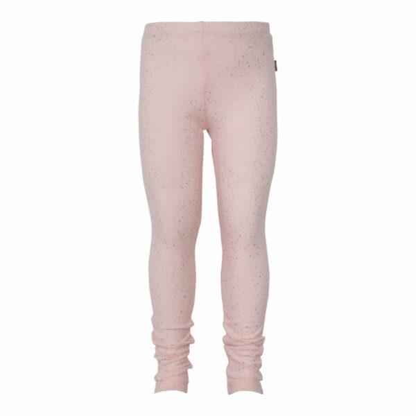 Nude glitter girls leggings | Nude leggings til piger med glimmerprint
