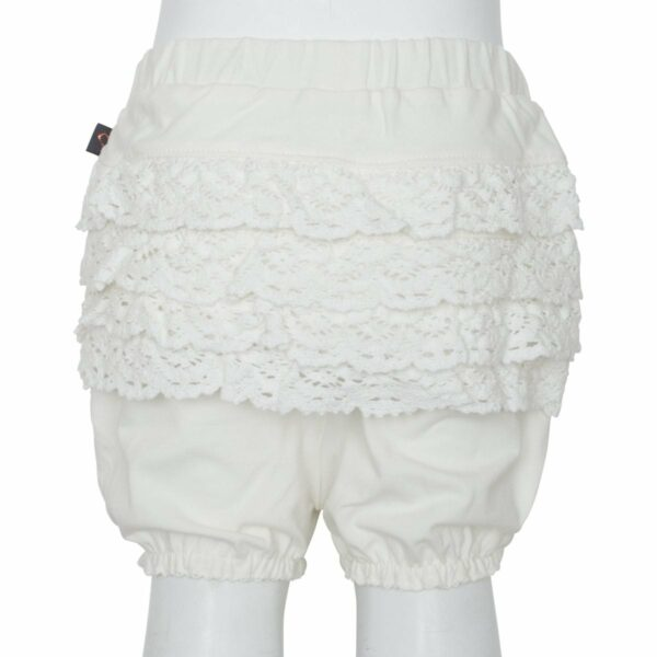 Off White lace bloomrs | Off white bloomers med blondenumse