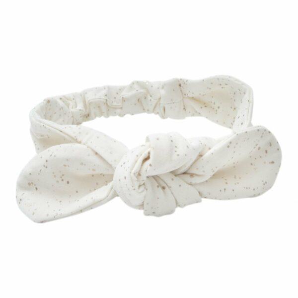 Off white glitter headband | Off white Aya Hårbånd med glitter print