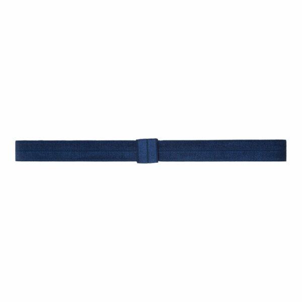 Olivia Navy370 | Elastik hårbånd til sløjfer -Navy Blå
