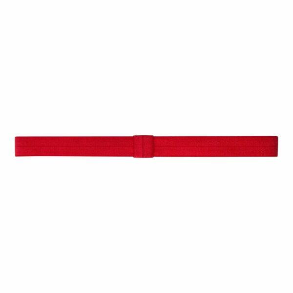 Olivia Red 250 | Elastik hårbånd til sløjfer -Rød