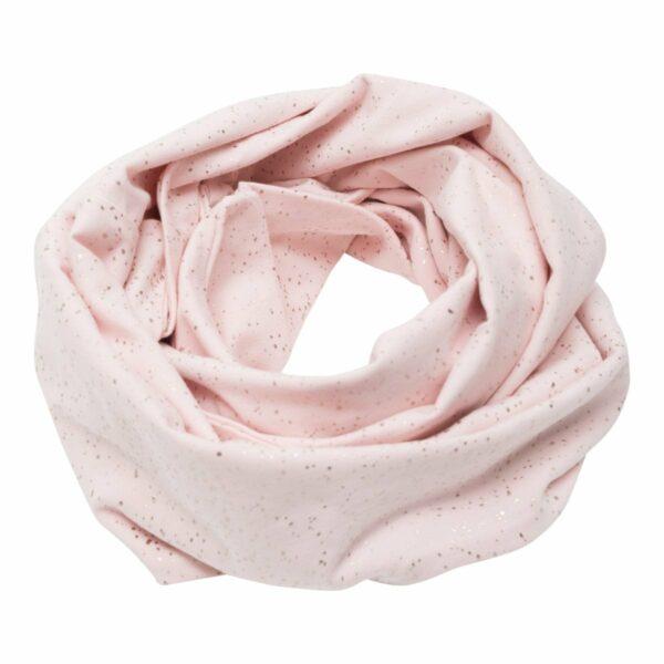 Tube scarf Nude Glitter | Nude glitter tube tørklæde til børn