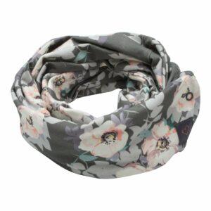 Grey Flower Tube tørklæde til børn