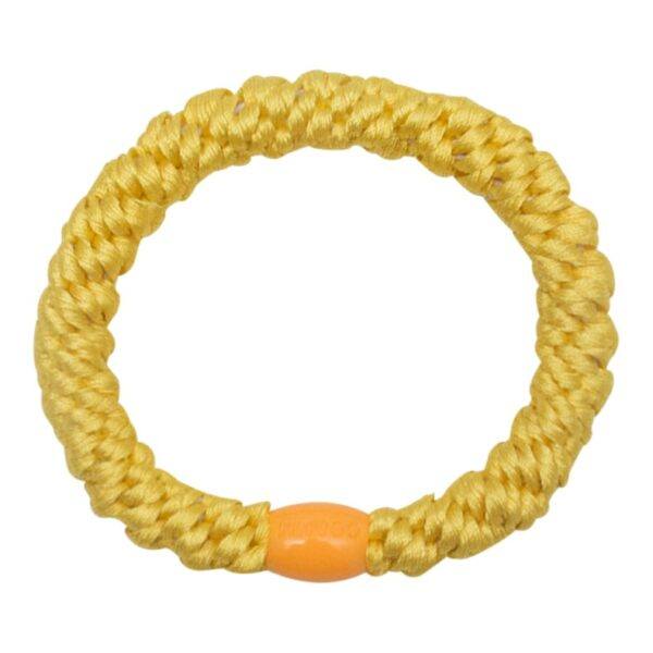 Yellow Elastic | Sommer gul kraftig hårelastik fra Little Wonders