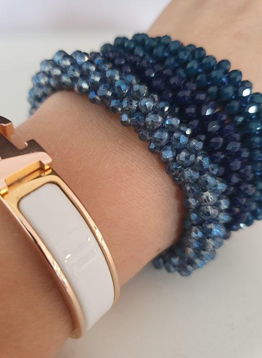 72234562 945721085784053 658945848331206656 n | Midnats blåt LW glitter perle armbånd