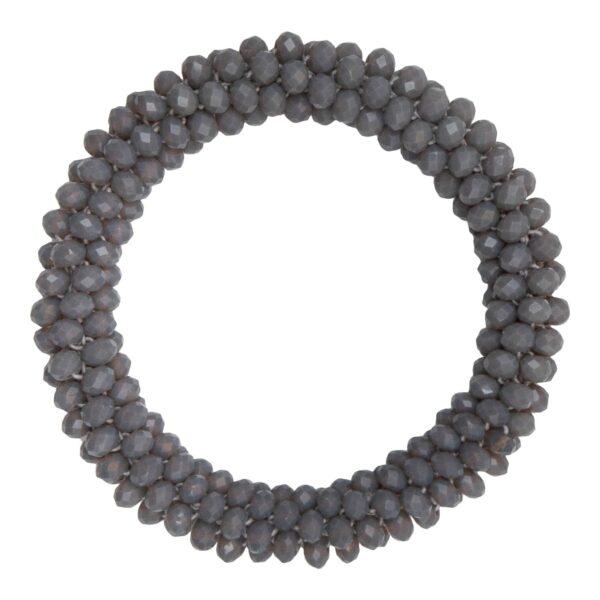 CR1 7532 Edit 1 | Koksgråt LW perle armbånd