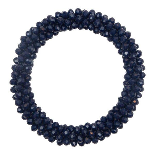 CR1 7533 1 | Midnats blåt LW glitter perle armbånd