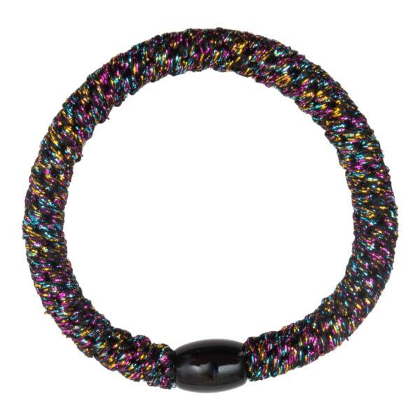 CR1 7557 1 | Multifarvet Glitter kraftig LW hårelastik