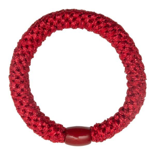 CR1 7564 | Rød Glitter kraftig LW hårelastik