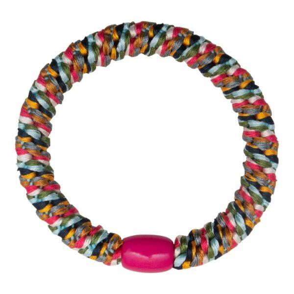 CR1 7581 | Multi farvet LW hårelastik med striber