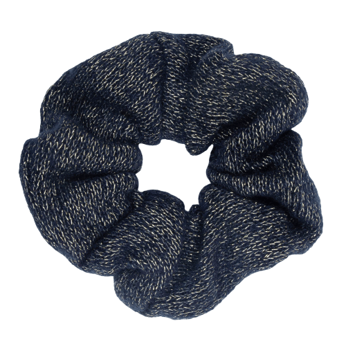 CR1 7858 removebg preview removebg preview | Scrunchie Strikket navy glitter  fra Little Wonders