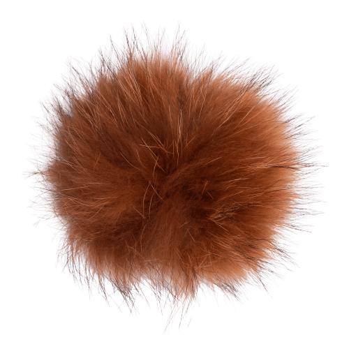 CR1 7987 removebg preview | Pels kvast - rødbrun med tryklås