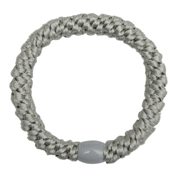 GGMM Grey | Grå LW flettet hårelastik