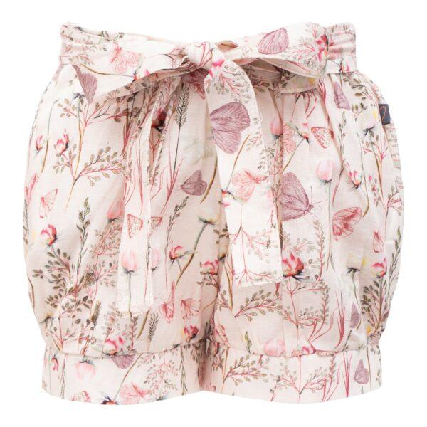 Sommerfugle printede Pixie shorts med sløjfe
