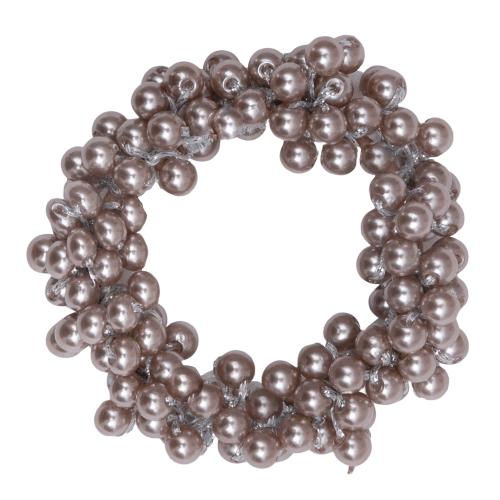 CR1 7928 Edit removebg preview | Beige elastik med lysegrå perler fra Little Wonders