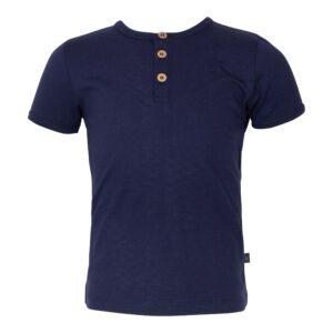 Navy Blå Benjamin kortærmet bluse