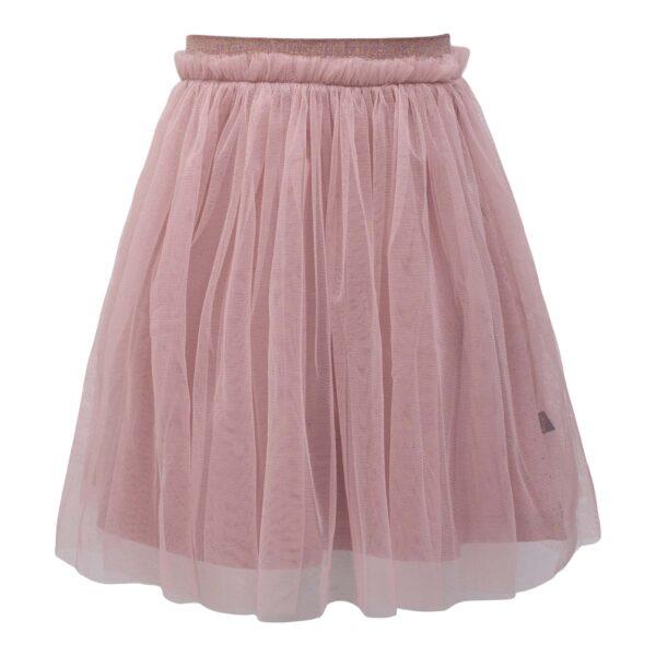 Støvet Rosa Britney tyl nederdel med glitter