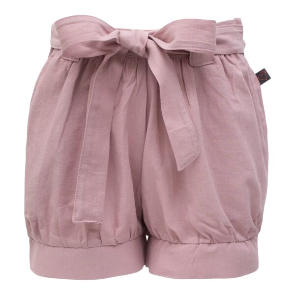 Rosa Pixie shorts med sløjfe