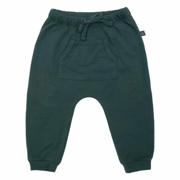 Trekking Green Adam baggy bukser med lommer