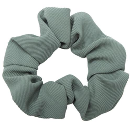 Støvet grøn scrunchie