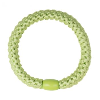 Pastel Lime Grøn flettet hårelastik