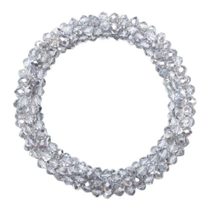 Perle armbånd i sølv