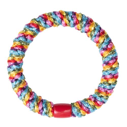 Parade regnbue glitter Kelly Flettet Hår Elastik