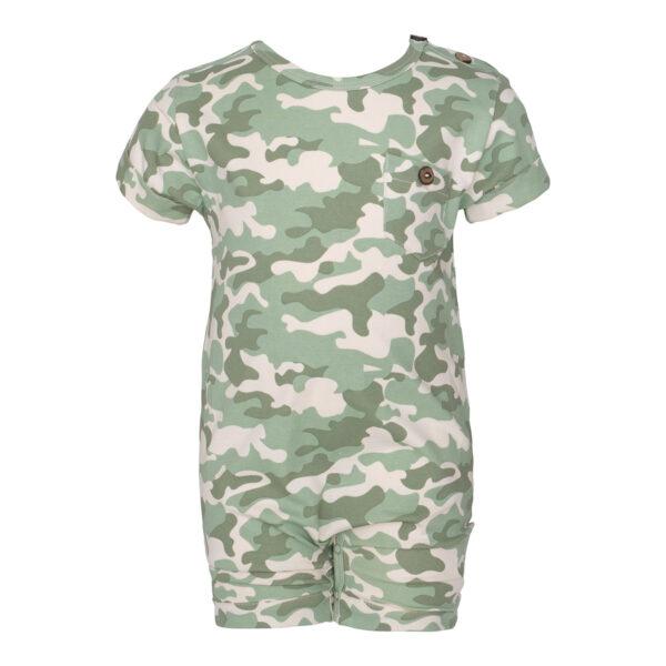 0105 Camou Magne Bodysuit | Magne sommerdragt med lomme i Green Camou print